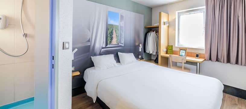 hotel en dijon habitación doble