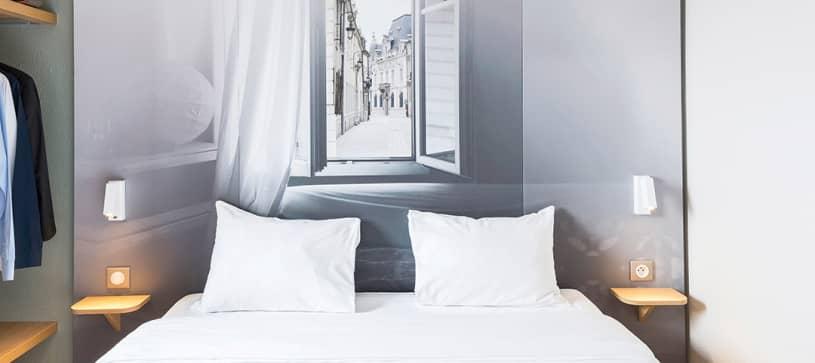 hôtel à dijon chambre double