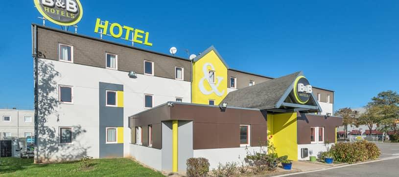 hotel front in dijon