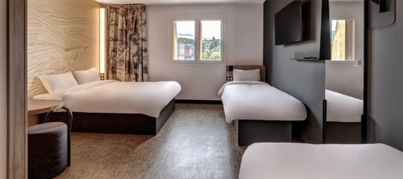 B&B Hôtel à Evian | chambre familiale