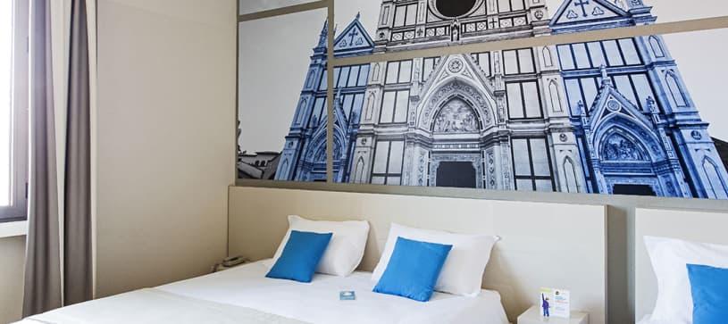 B&B Hotel Firenze Novoli - Camera tripla