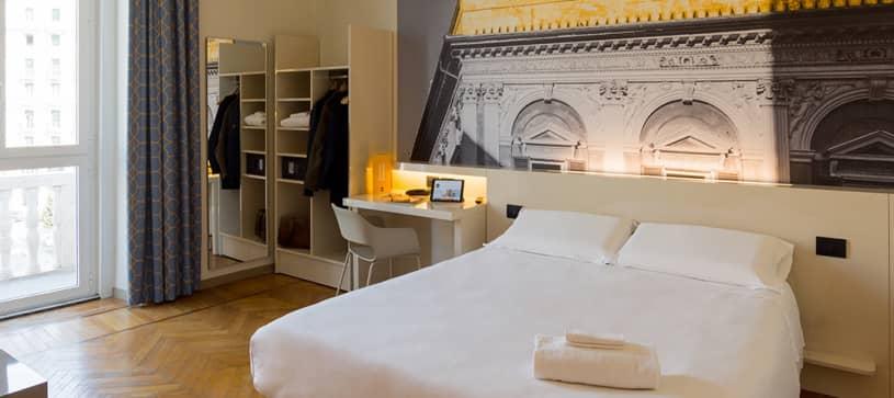 B&B Hotel Genova - Camera matrimoniale