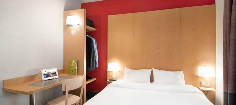 hôtel à grenoble chambre double