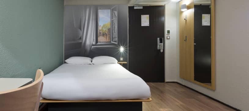 chambre double B&B Hôtel Le Mans Centre