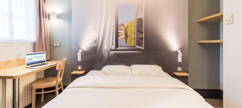 hôtel au mans chambre double