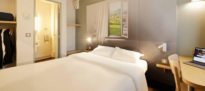 chambre double B&B Hôtel Lens Noyelles Godault