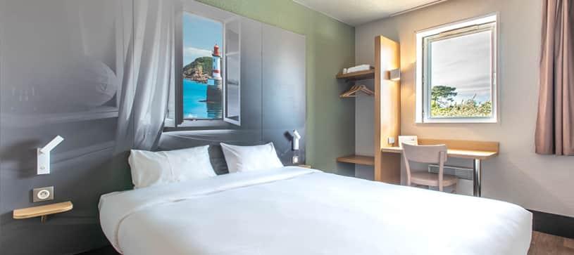hôtel à lorient chambre double