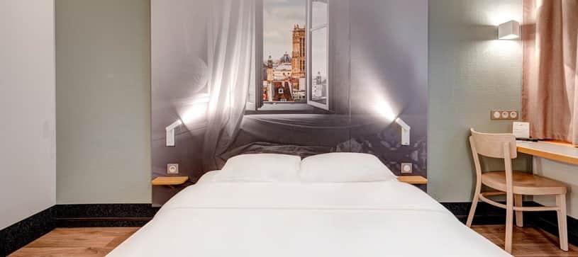 B&B Hôtel à Louveciennes | chambre double