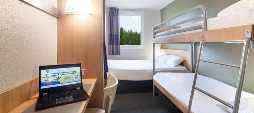 hotel in marne la vallée family room