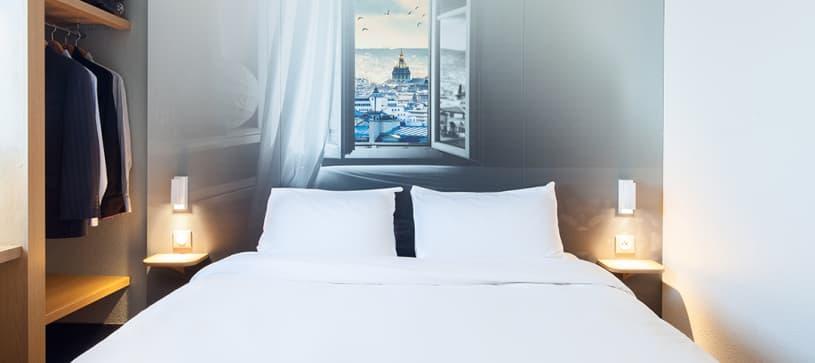 chambre double B&B Hôtel Maurepas