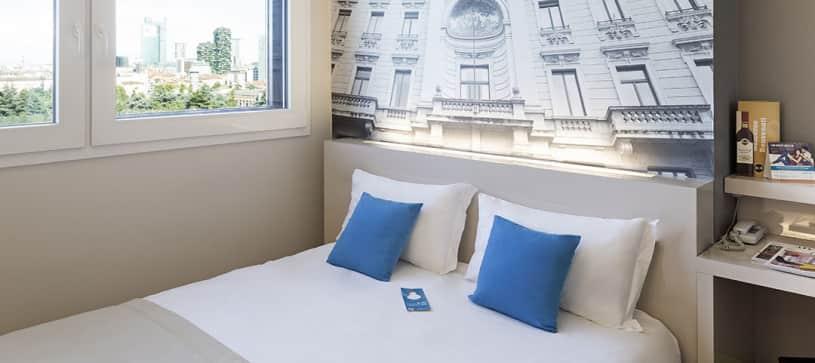 B&B Hotel Milano Cenisio Garibaldi - Camera matrimoniale