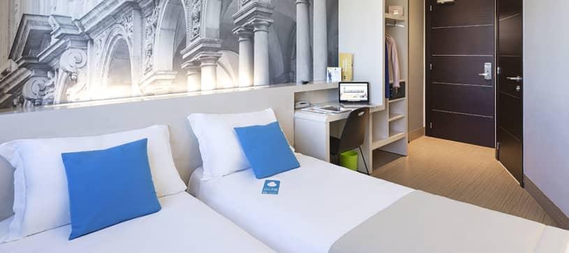 B&B Hotel Milano Cenisio Garibaldi - Camera twin
