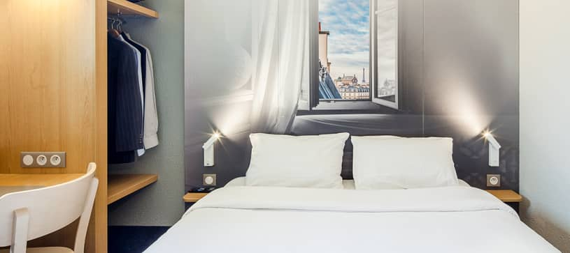 chambre double B&B Hôtel Montlhéry