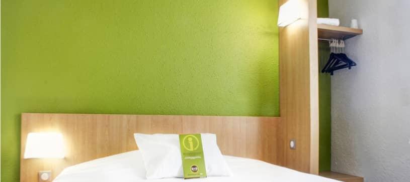 chambre double hôtel Montlucon B&B HOTELS