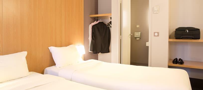 hotel en montpellier habitación doble