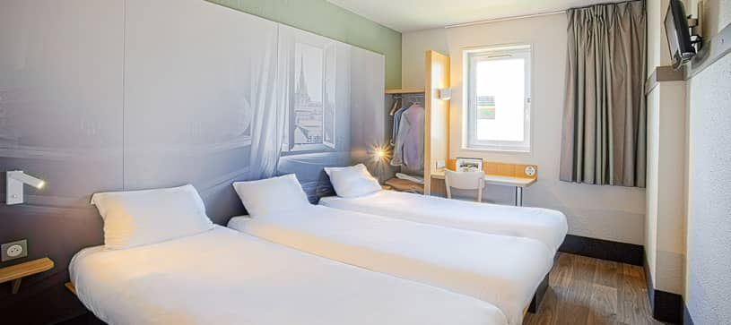 hotel in mulhouse double room 2 beds