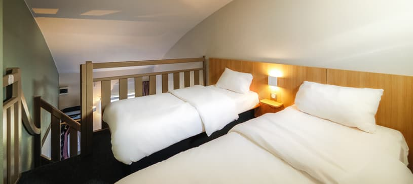 hotel in nantes family room