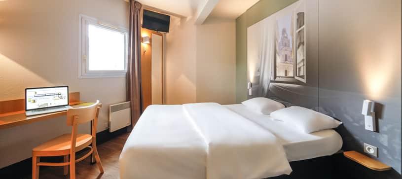 hotel en nantes habitación doble