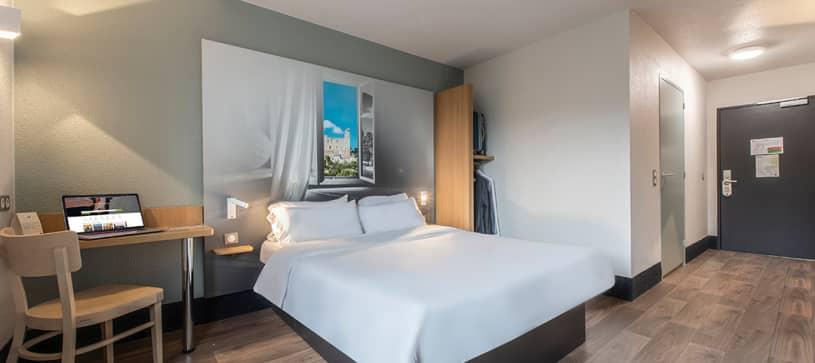 chambre double B&B Hôtel Orange