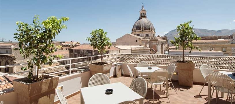 B&B Hotel Palermo Quattro Canti - Terrazza