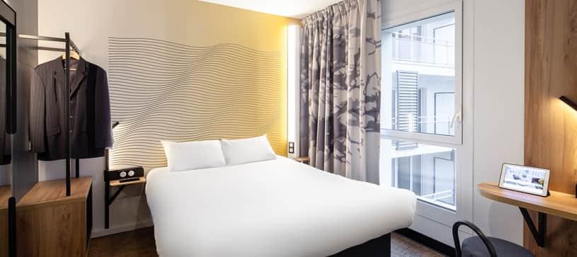 chambre double B&B Hôtel Paris Meudon Vélizy