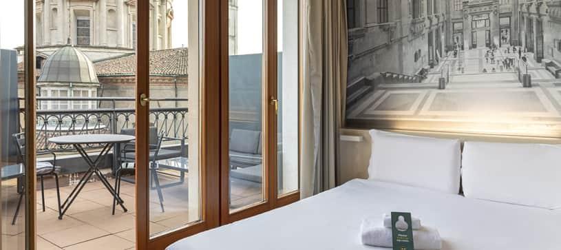 B&B Hotel Milano Sant'Ambrogio - Matrimoniale Terrace