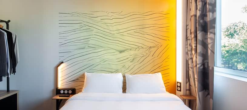 chambre double B&B Hotel Saint Denis Porte de Paris