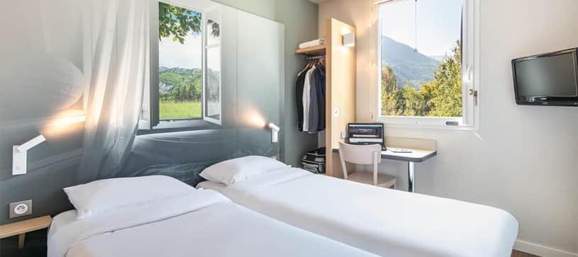 hotel en saint jean de maurienne habitación doble
