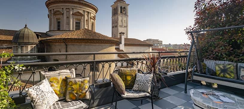 Sant'Ambrogio terrazzo