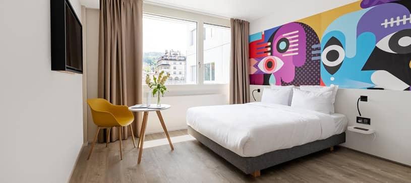B&B HOTEL St Gallen | double room