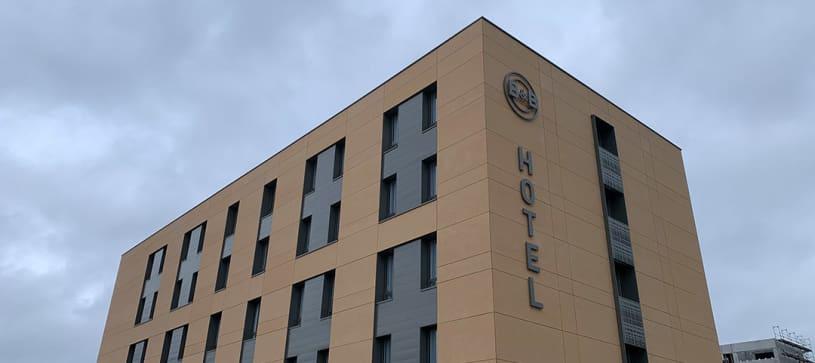 hôtel à Thionville façade