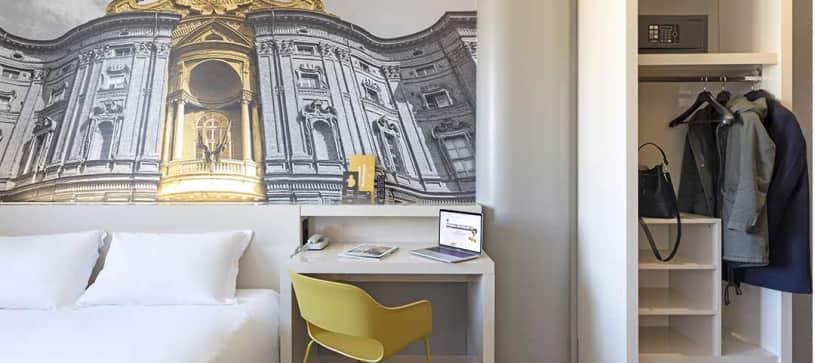 B&B Hotel Torino - Camera matrimoniale