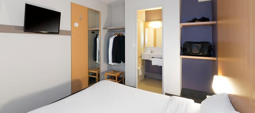 hôtel à vannes chambre double