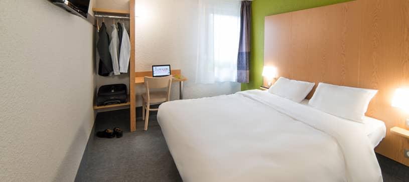 hotel en verdun habitación doble