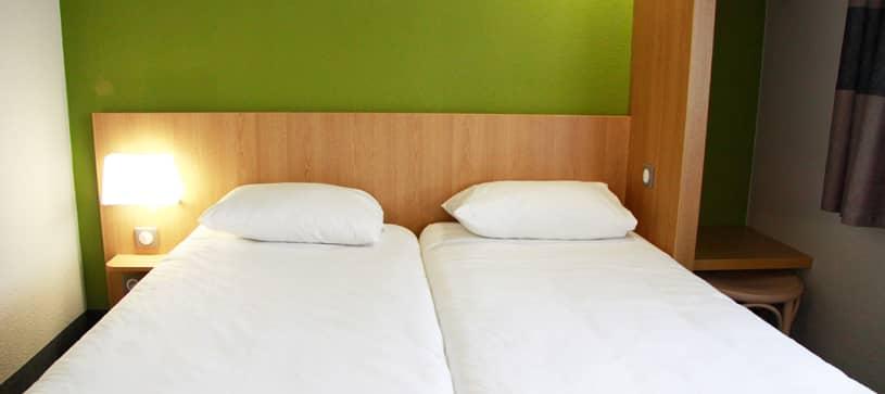 chambre double B&B Hôtel Vierzon