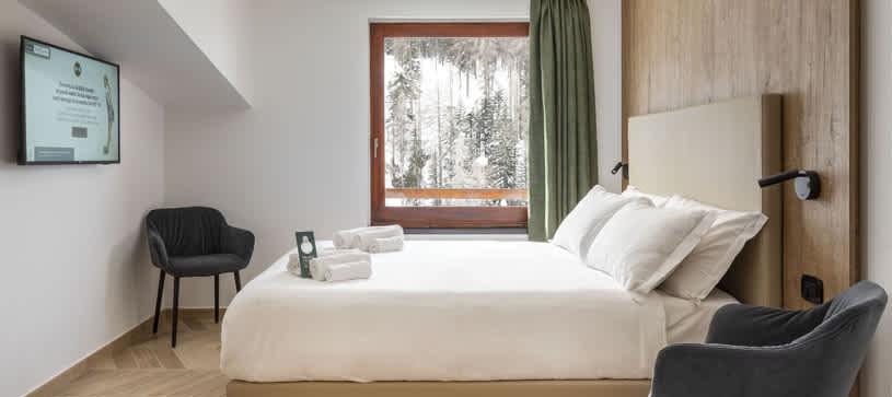 B&B Hotel Cortina Passo Tre Croci - Camera