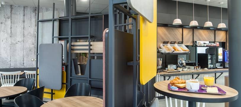 Sala de desayunos B&B HOTELS