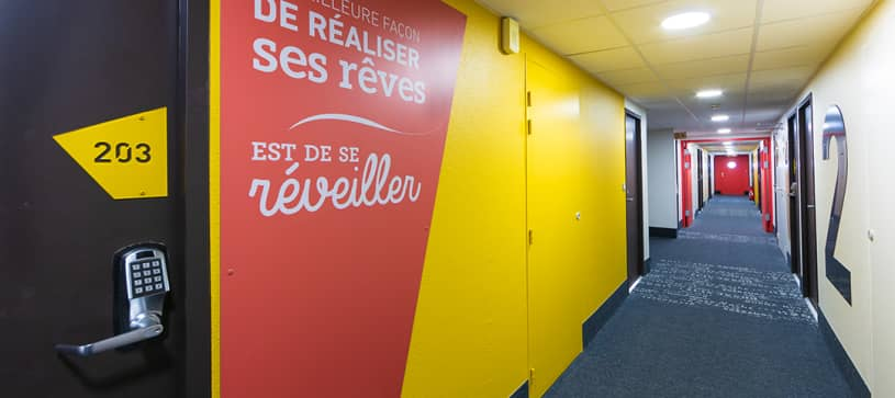 hotel in montauban corridor