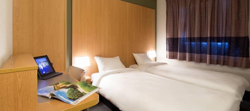 hôtel à nimes chambre double 2 lits