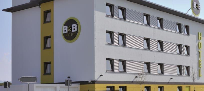 Hotel Baden-Airpark Aussenansicht Gebäude