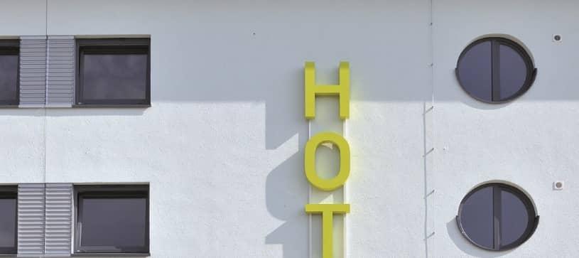 Hotel Baden-Airpark Aussenansicht