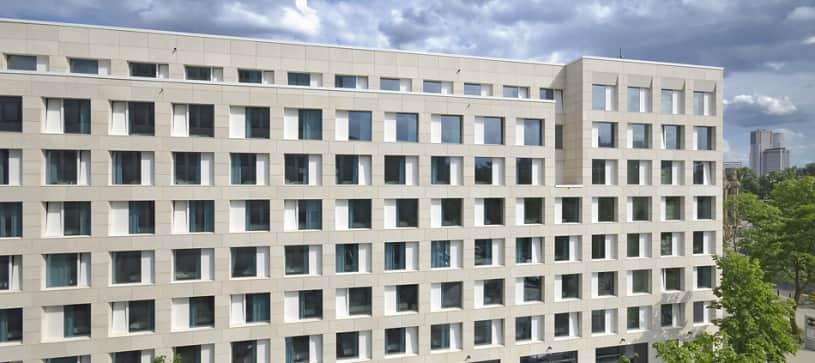 Hotel Berlin-Tiergarten Außenansicht bei Tag