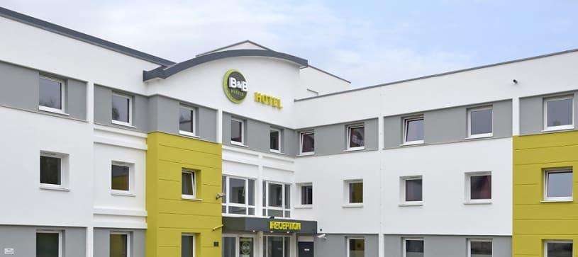 Hotel Bochum-Herne Außenansicht bei Tag
