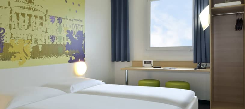 Hotel Braunschweig-Nord bedroom for 1 to 2 persons french