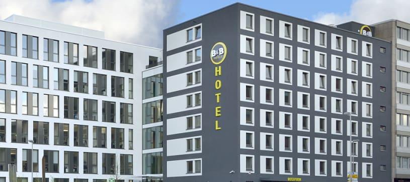 Hotel Düsseldorf-City Außenansicht bei Tag