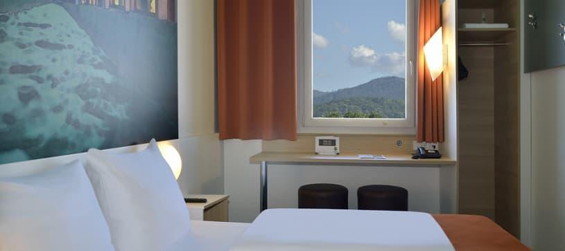 Hotel Freiburg-Nord Zimmer für 1 bis 2 Personen Nahaufnahme