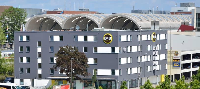 Hotel Kiel-City Außen Seitenansicht