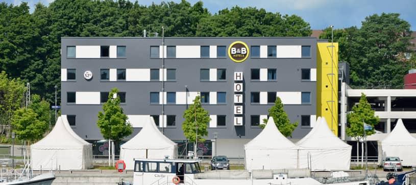 Hotel Kiel-City Außenansicht bei Tag