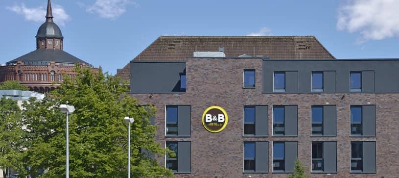 Hotel Kiel-Wissenschaftspark exterior by day