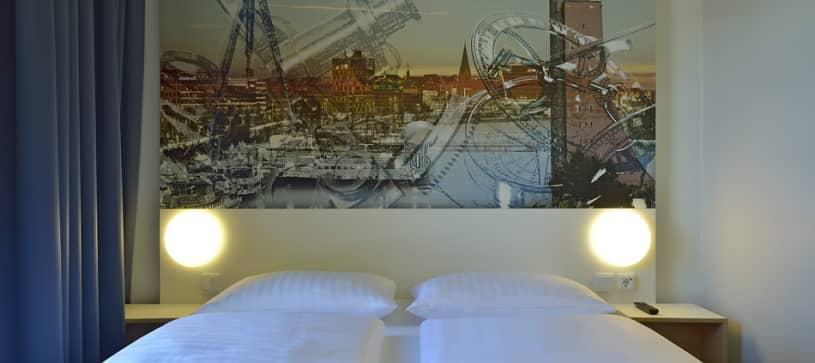Hotel Kiel-Wissenschaftspark Zimmer für 1 bis 2 Personen Nahaufnahme
